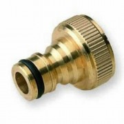 Brass Quick Threaded Tap Connector 1 inch BSP Female