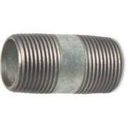 "1.1/2"" Galvanised Barrel Nipples MxM"