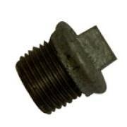 "1"" Black Iron Flanged Plug"