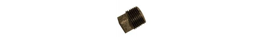 Black Iron Plain Plugs