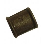 "1"" Black Iron Sockets FxF"