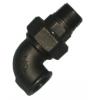 Black Iron Union Elbows FxF
