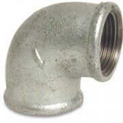 "1.1/4"" Galvanised 90 Elbow FxF"