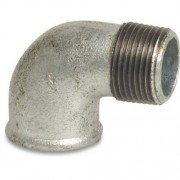 "3"" Galvanised 90 Elbow MxF"