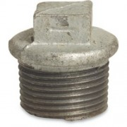 "4"" Galvanised Flanged Plug"