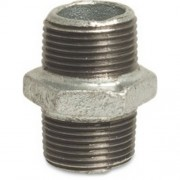 "1.1/4"" Galvanised Hex Nipples"