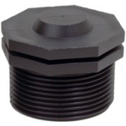 3 inch M Threads - Threaded Plug
