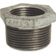 "1 X 1/2"" Galvanised Hex Bush"
