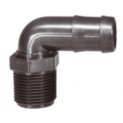 3/4 inch M Thread to 1/2 inch Barb - Male Threaded Hose Pipe
