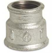 "4 X 3"" Galvanised Reduced Sockets FxF"