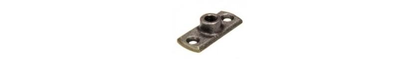 Black Iron Backplates Female