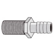 "11/16"" M THREAD TO 1/2"" BARB NOZZLE"