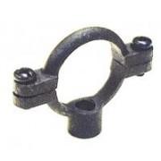 "100MM (4"") Black Iron Single Pipe Ring"