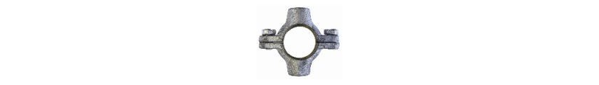 Black Iron Double Pipe Rings