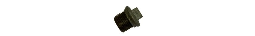 Black Iron Flanged Plugs