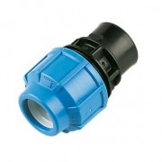 "90mm x 2"" PP Female Union Adaptor for MDPE Pipe"