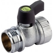 "Plated Brass Mini Ball Valve 3/4"" BSP Male x 3/4"" BSP Female"