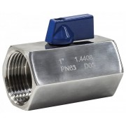 "Stainless Steel Mini Ball Valve 3/4"" BSP Female x 3/4"" BSP Female"
