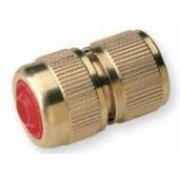 Brass Quick Hose Connector with Shut Off Valve 3/4 inch Hose
