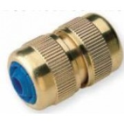 Brass Quick Hose to Hose Connector 3/4 inch Hose