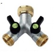 2 Way Connector with Independent and Adjustable Flow Path 3/4 BSP Female