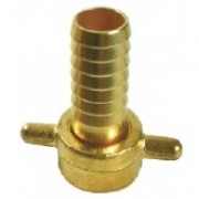 Brass Hose Fitting 1 inch Female 3/4 inch Hose