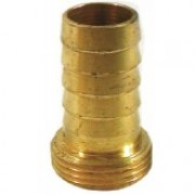 Brass Hose Fitting 3/4 inch Male Short Thread 3/4 inch Hose