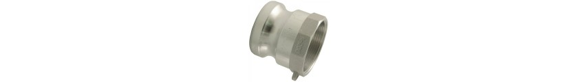Aluminium Camlock Type A Female Thread x Male Part