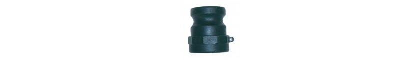 Polypropylene Camlock Type A Female Thread x Male Part
