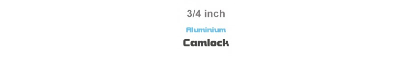 Aluminium Camlock 3/4 inch Fittings