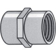 "1 1/4"" F Thread to 1 1/2"" F Female Coupling"