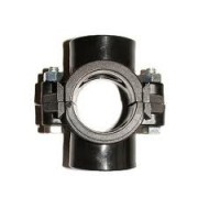"90mm x 3/4"" Double Reinforced Clamp Saddle"