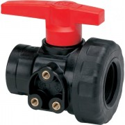 "Geoline Polypropylene Single Union Ball Valve 1""1/4 BSP Female Thread"