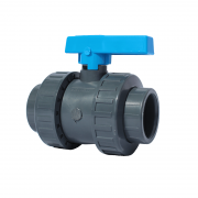 "1 1/2"" ABS Standard Double Union Ball Valve"