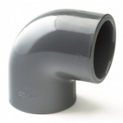 110mm PVCu Plain Elbow 90 Degree