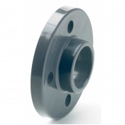 "1"" PVCu Full Face Flange BS10 / Table E"