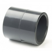 75mm PVCu Plain Socket