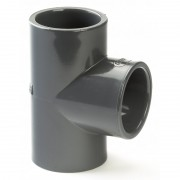 110mm PVCu Plain Tee 90 Degree