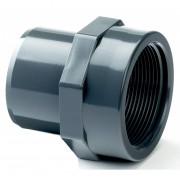 "32mm x 1"" Plain Male Spigot/BSP Female Threaded Adaptor"