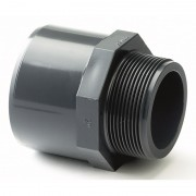 "32mm x 40mm x 1"" Plain / BSP Threaded Male Adaptor"