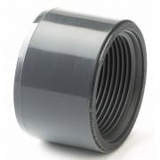 "1/2 X 3/8"" ABS Plain / BSP Threaded Reducing Bush"