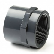 "110mm x 4"" PVCu Plain / BSP Threaded Socket"