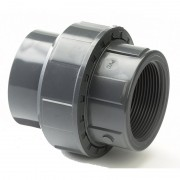 "75mm x 2.1/2"" Plain / BSP Threaded Union"