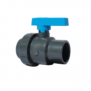"4"" PVCu Single Union Ball Valve"