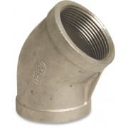 2 inch Stainless Steel 316 Elbow 45 Degree Female x Female Threaded