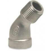 11/4 inch Stainless Steel 316 Elbow 45 Degree Male x Female Threaded