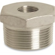 4 x 3 inch Stainless Steel 316 Reducing Bush Male x Female Threaded