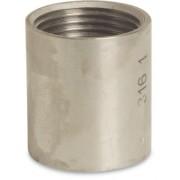 1/4 inch Stainless Steel 316 Socket Female x Female Threaded