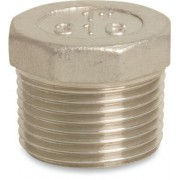 4 inch Stainless Steel 316 Plug Threaded