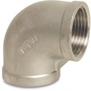 3 inch Stainless Steel 316 90 Degree Elbow Female x Female Threaded
